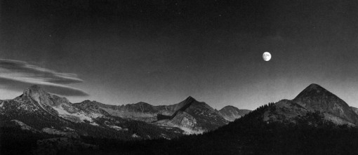 Ansel adams moon