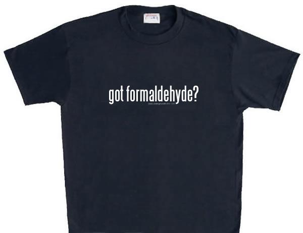 Formaldehyde in your fabrics | O ECOTEXTILES